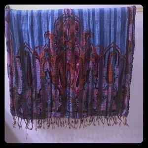 Lucky brand woven scarf
